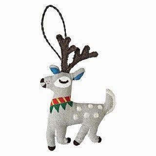 Good Cheer Deer Ornament / Sarah Walsh