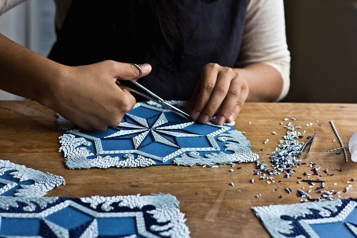 Paper Installations / Gunjan Aylawadi
