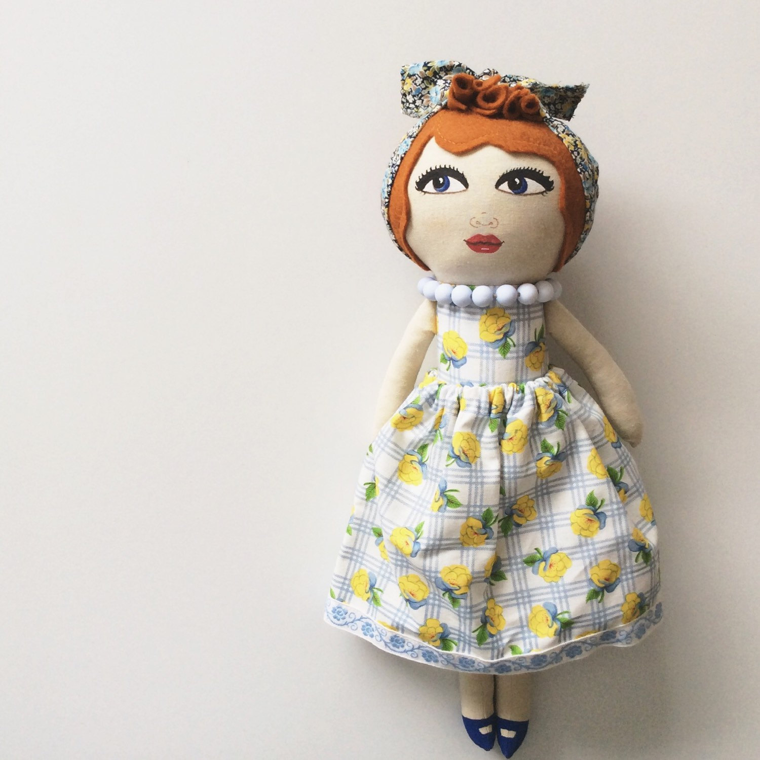 Handmade doll / A Little Vintage