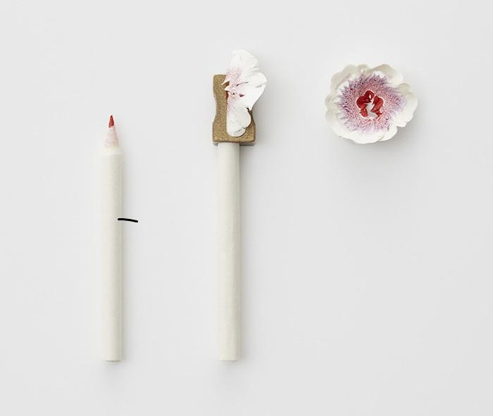 Paper pencil shavings / Haruka Misawa