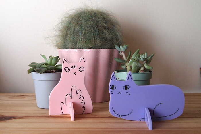 Cat desk ornaments / I like Cats Shop