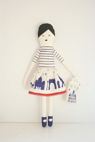 I love Paris Doll Kit / Miko Design