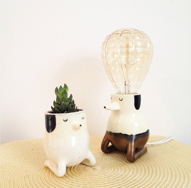 Planter & Lamp / Il Sung Na
