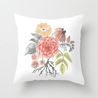 Bouquet Pillow Cover / Rae Ritchie