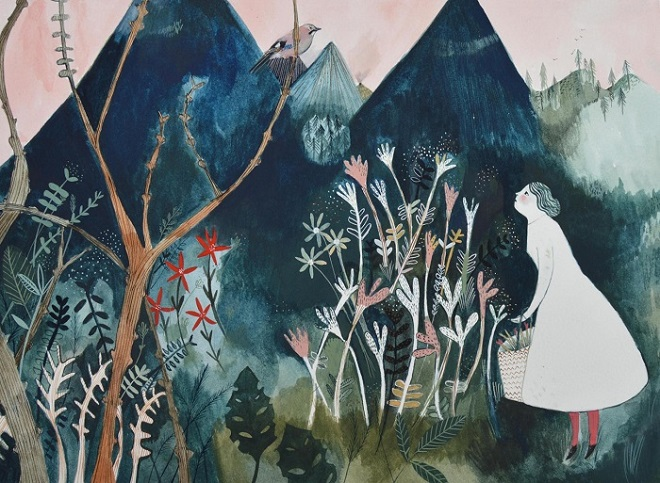 Jay Mountain Painting - Melodie Stacey