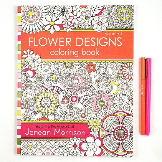 Flower coloring book / Jenean Morrison Art & Design