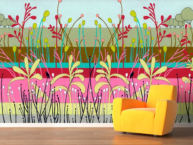 Flora Wallpaper / Jennifer Davis