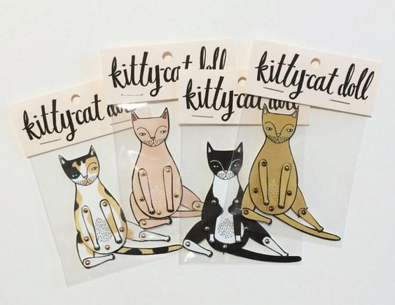 KittyCat dolls by Jordan Grace Owens
