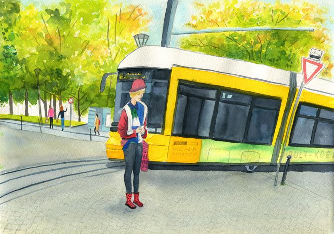 Illustration by Ju Castelo