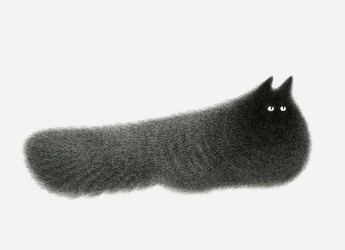 Cat Illustrations By Kamwei Fong