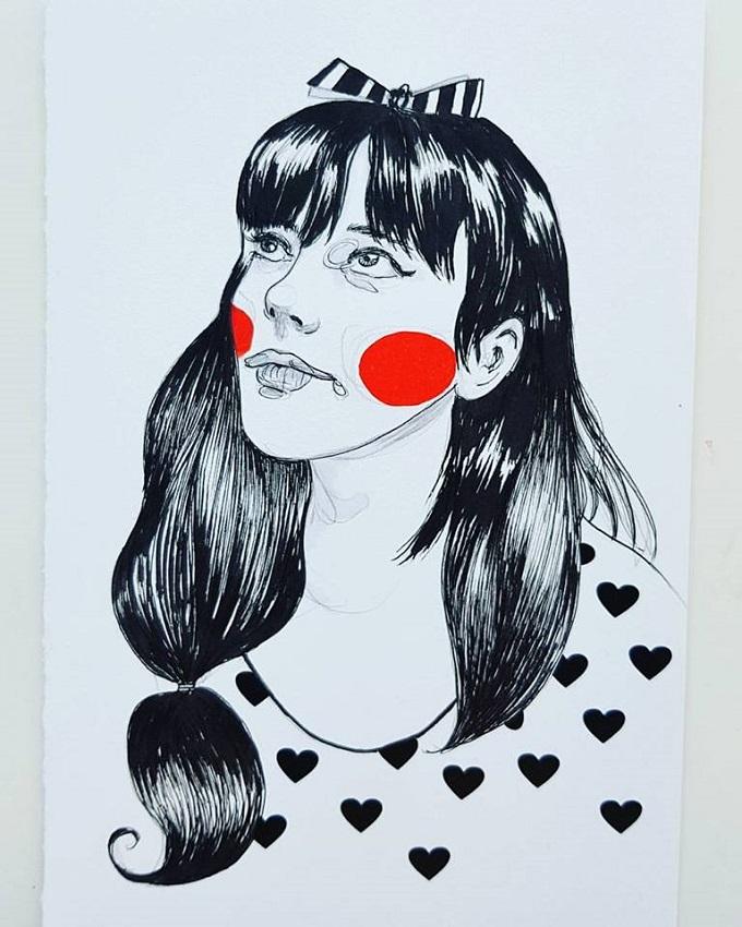 Illustration by Karlijn Dammers