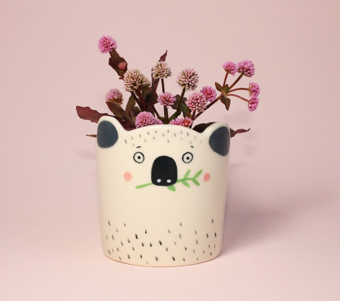 Koala Planter - Hesukinae Studio