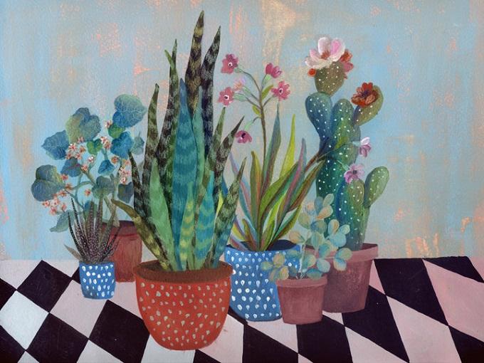 Plant Art Illustration