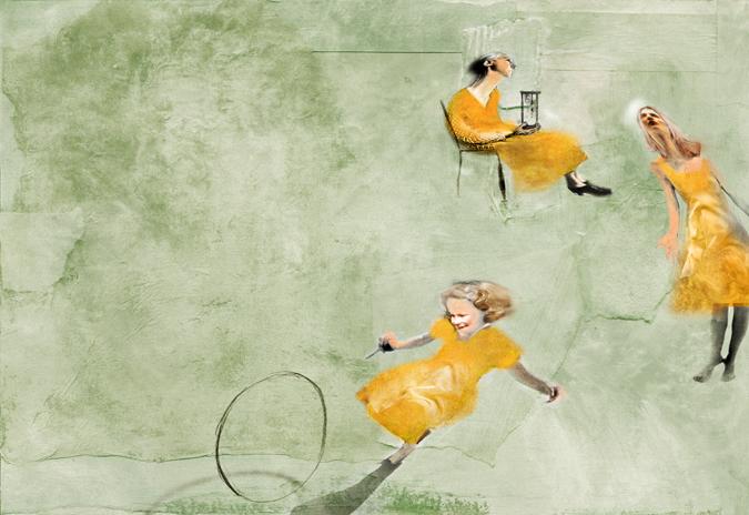Le Tre Età. By Antonello Silverini, 2007.