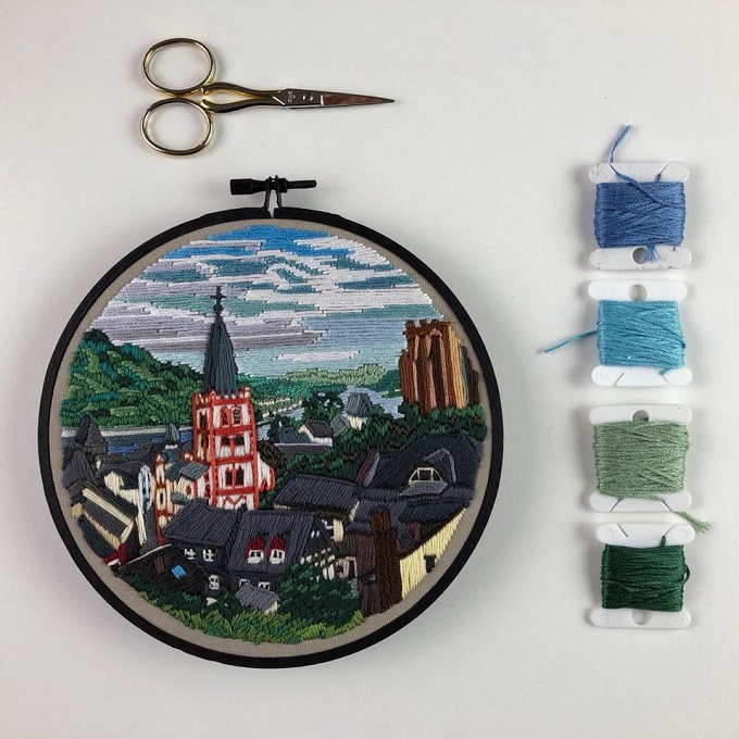 Embroidery by Libby Williams