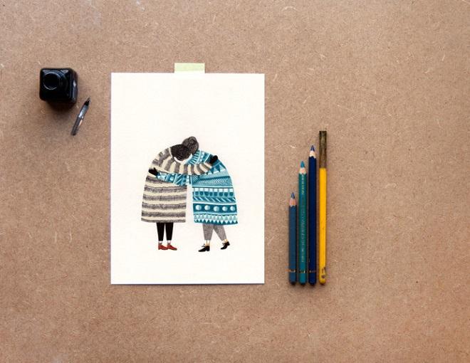 Postcard / Lieke van der Vorst