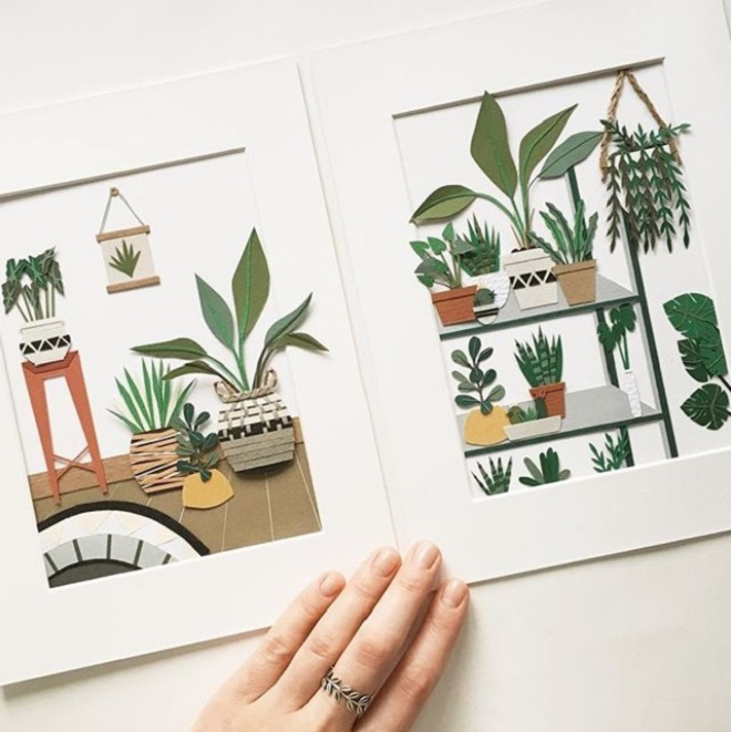 Paper Plants by Lissova Craft
