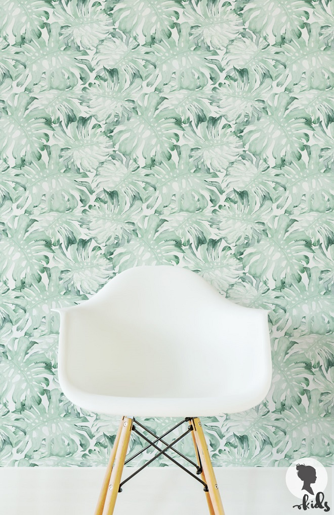 Palm Leaves Wallpaper / Livette's Kids