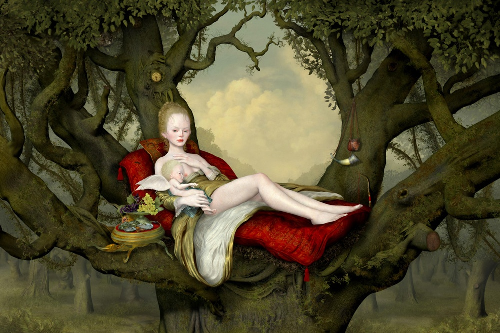 Mother and Child. By Ray Caesar, 2013.