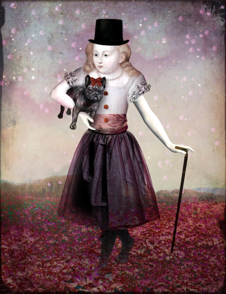 Madame Colette and her Pet, by Catrin Welz-Stein.