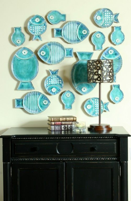 Maliby Fish Plates / Houzz