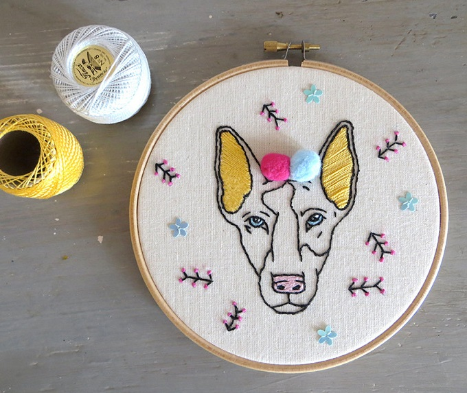 Embroidery by Marta Fofi