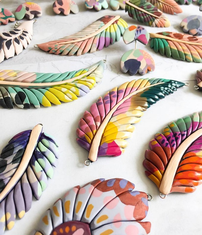 Ceramic Pendants by Marinush