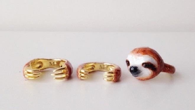 Sloth Ring / Mary Lou