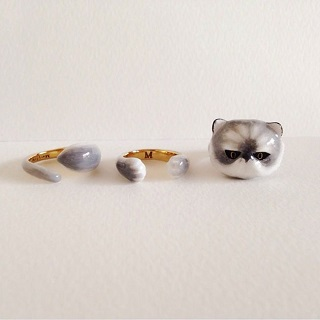 Cat ring / Merry Me
