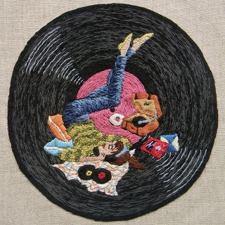 Embroidery by Michelle Kingdom