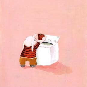 Minor Situation Shrunken Sweater, by Shari Weschler Rubeck.