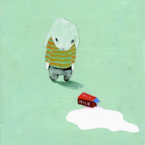 Minor Situation Spilt Milk. By Shari Weschler Rubeck, 2012.