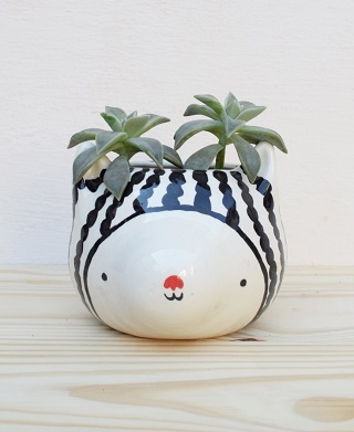 Cat Planter / Miriam Brugmann