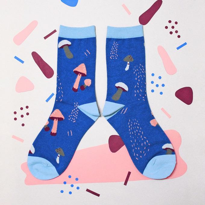 Mushroom Socks - Yu Square