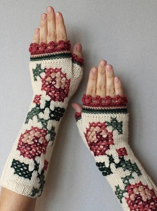 Fingerless Gloves / Natalija Brancevičienė