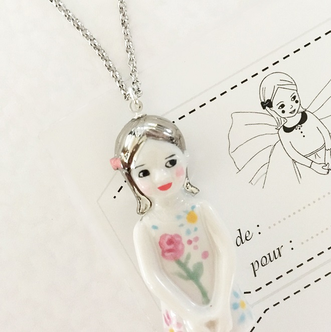 Porcelain Necklace / Natacha Plano
