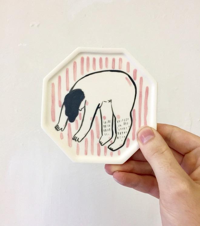 Ceramics by Natalie Wood & Maria Stoian