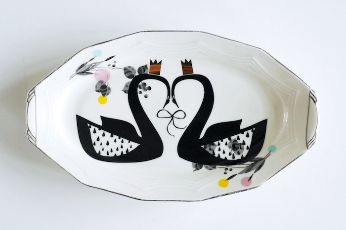 Plate by Nina in Vorm