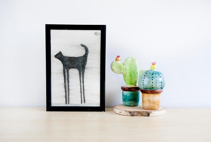 Miniature Cactus Ceramics / Noe Marin