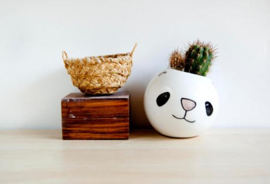 Panda Planter / Noemarin