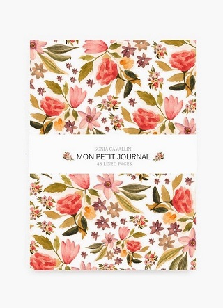Flower Notebook / Sonia Cavallini