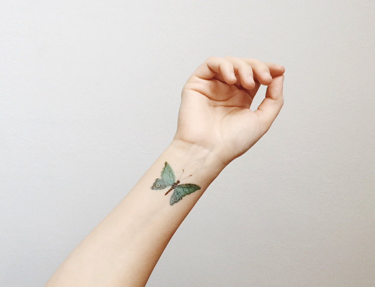 Temporary Tattoo / Oana Befort