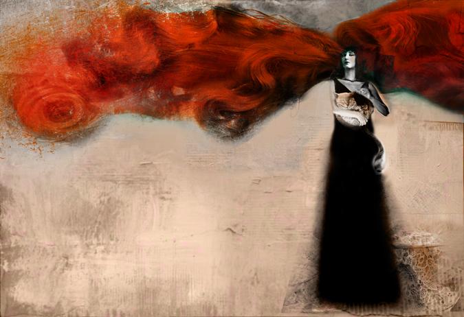 Ophelia. By Antonello Silverini, 2007.