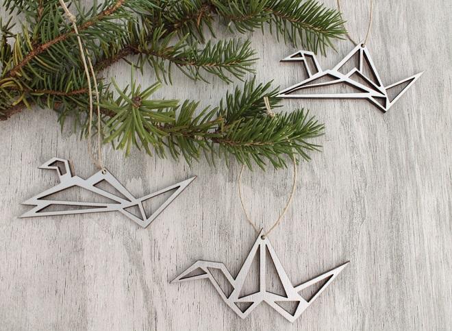 Origami Ornament Set / Havok Designs