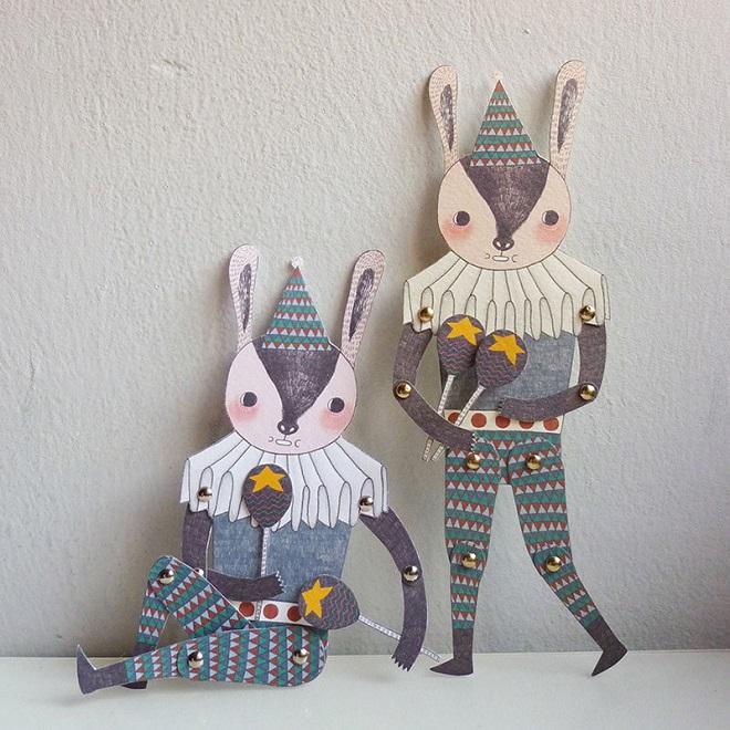 Paper Doll Set / Minifanfan
