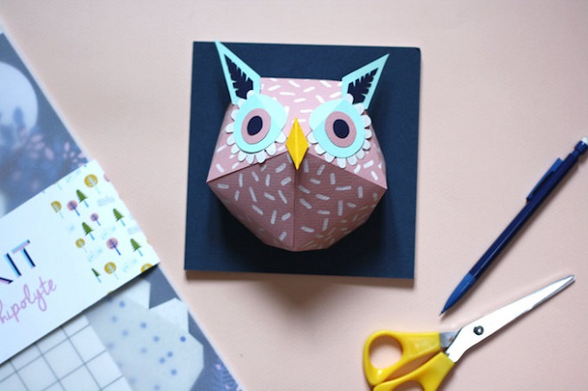 Paper Owl Kit - Mlle Hipolyte