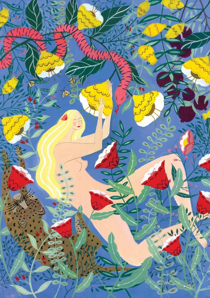 Paradise Print - Nynke Locher