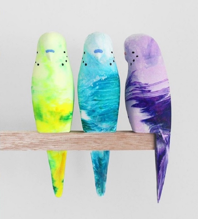 Budgies / Pete Cromer