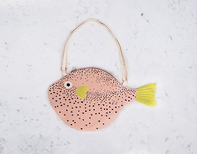 Pink Pufferfish Bag - Don Fisher Shop