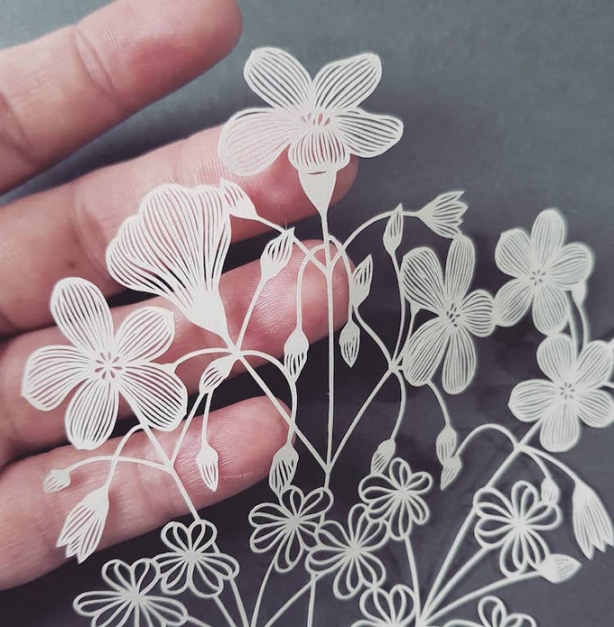 Paper Art by Pippa Dyrlaga